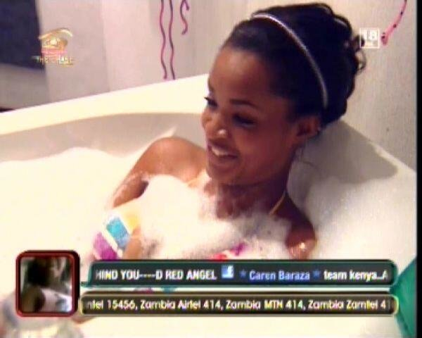 Big Brother Africa 2013: Shower Hour Pics