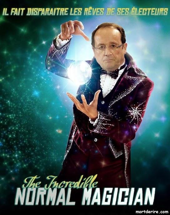 LA TABLETTE MAGIQUE de François Hollande