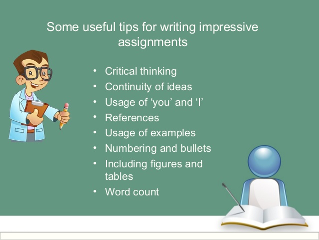 Writing Impressive Tips