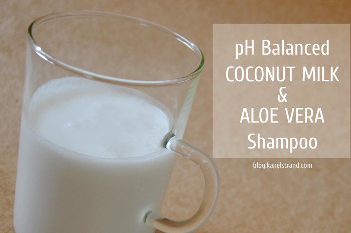 Homemade Shampoo: Coconut Milk and Aloe Vera