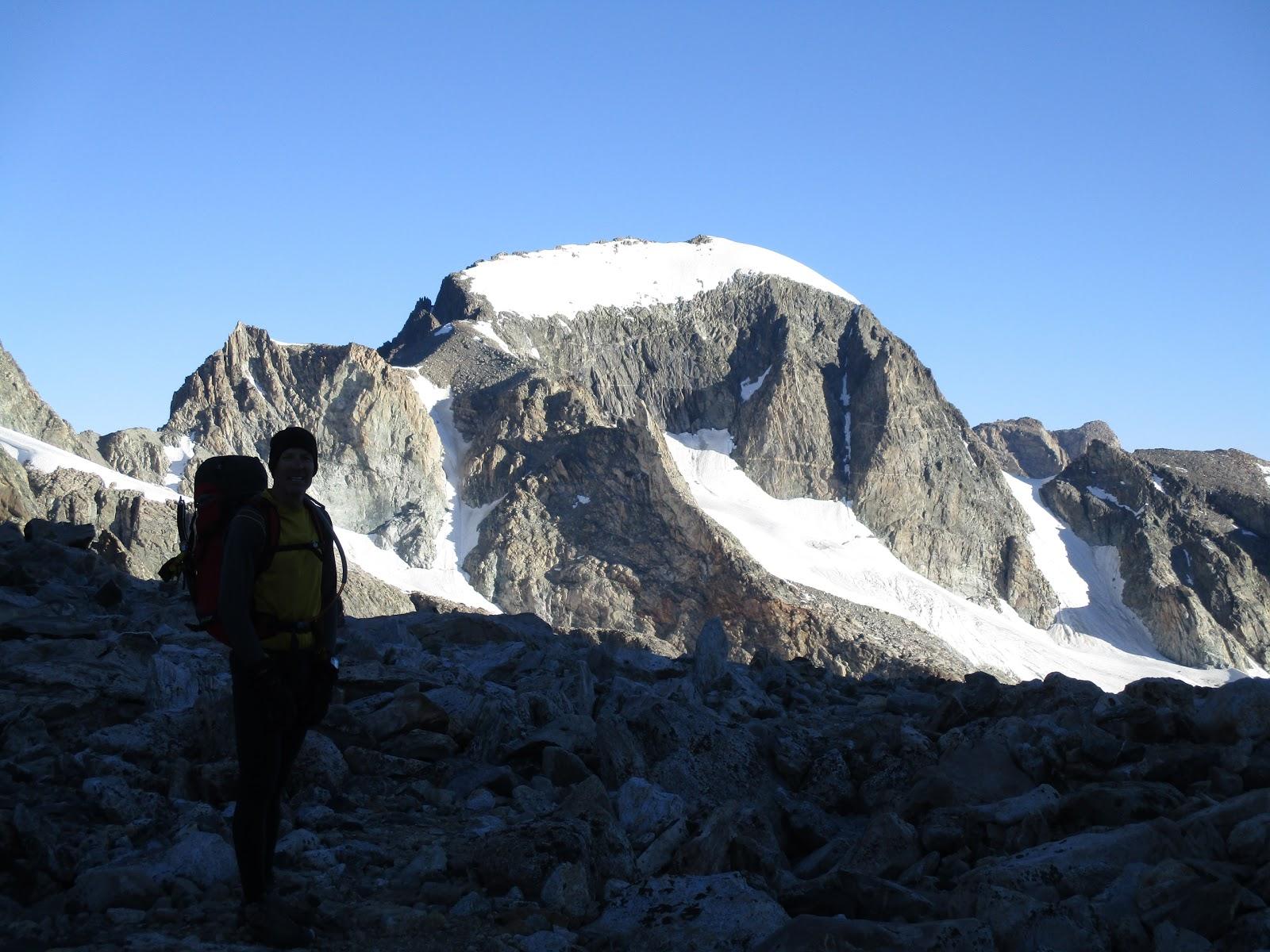 Gannett Peak Bergschrund
