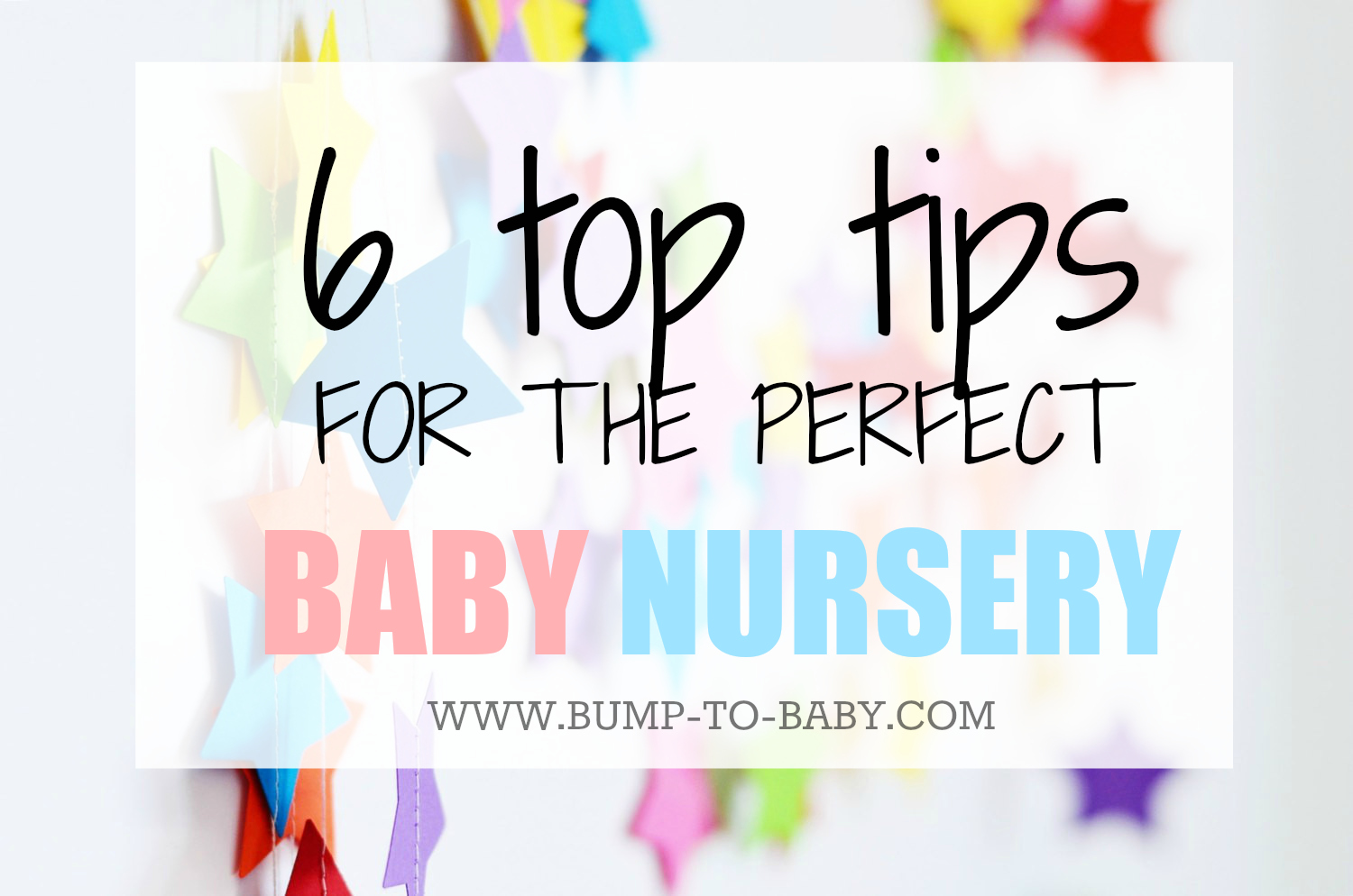 Nursery decor, bright nursery decor, nursery decor tips