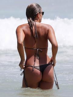 Natasha Oakley in Bikini at a Beach in Sydney 5.jpg