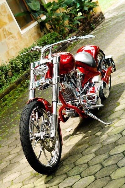 Modifikasi Harley Davidson Pro Street