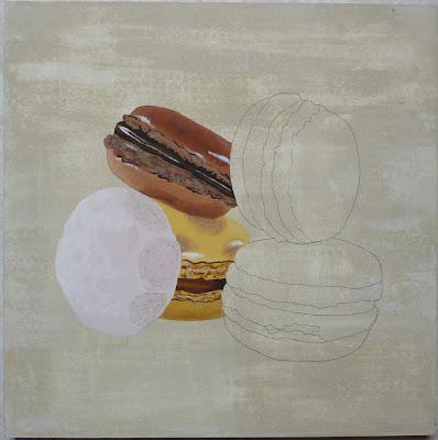 Macarons,Peinture