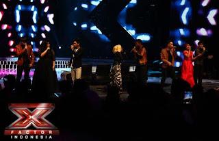Finalis x factor buka konser lenka