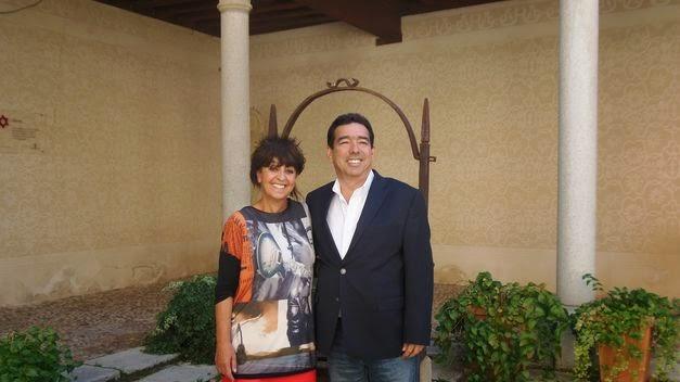 Un descendiente del rabino y banquero Abraham Seneor visita Segovia en busca de sus orígenes