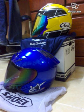 Arai Yamaha Intercolor RARE