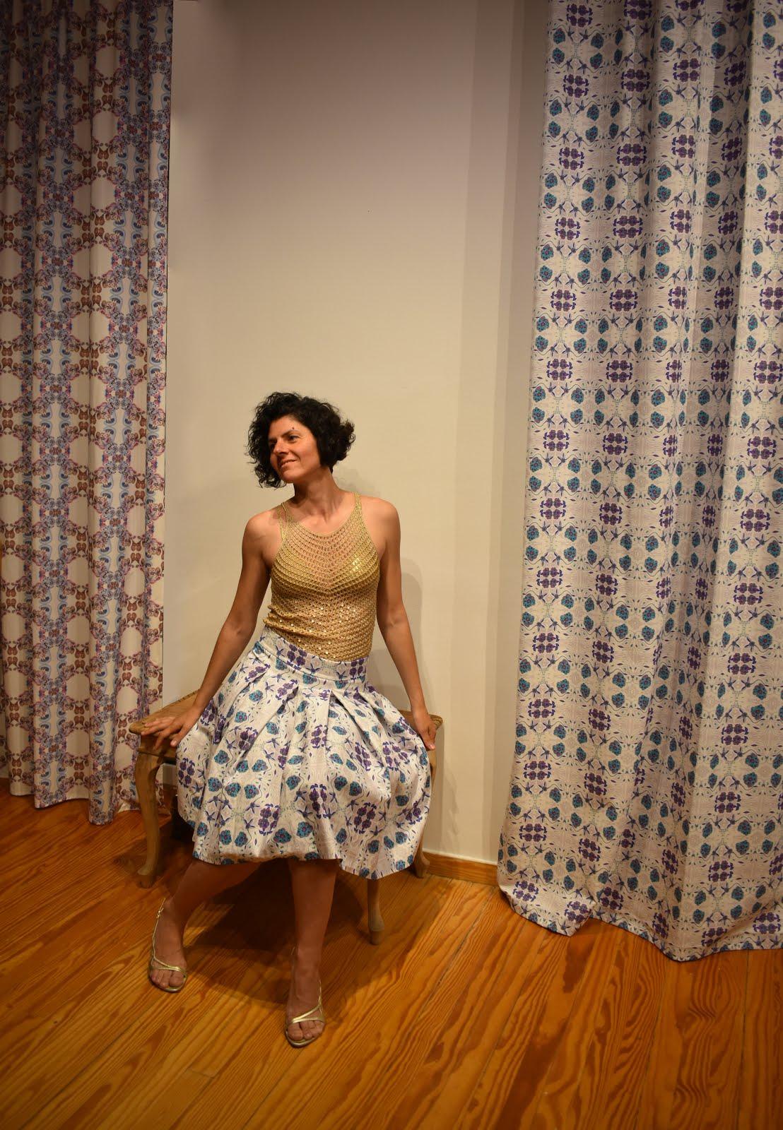 Unique SuGleri Art Fabric for Interior & Fashion Design