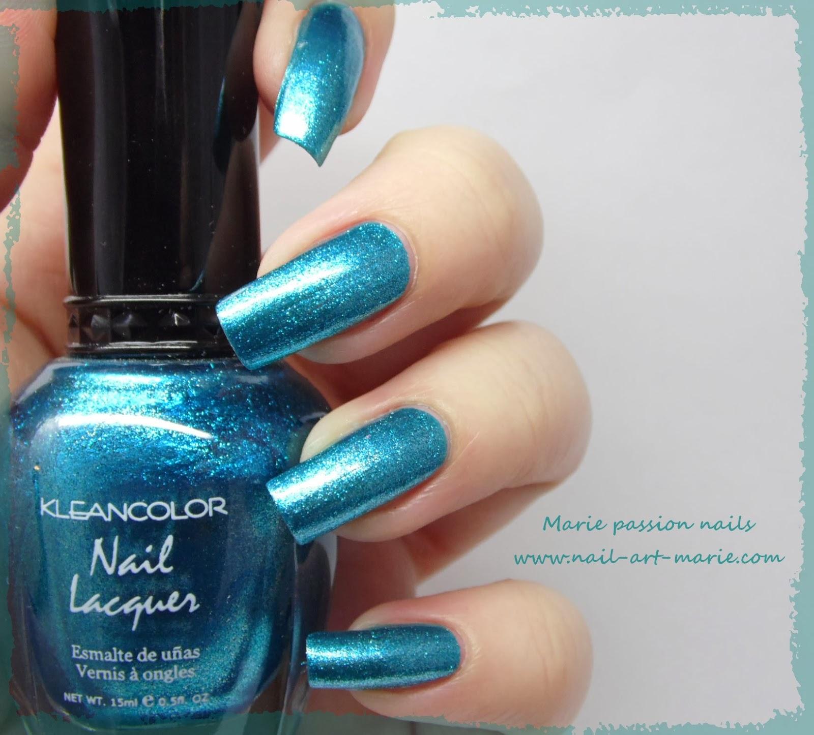 Kleancolor Metallic Aqua2