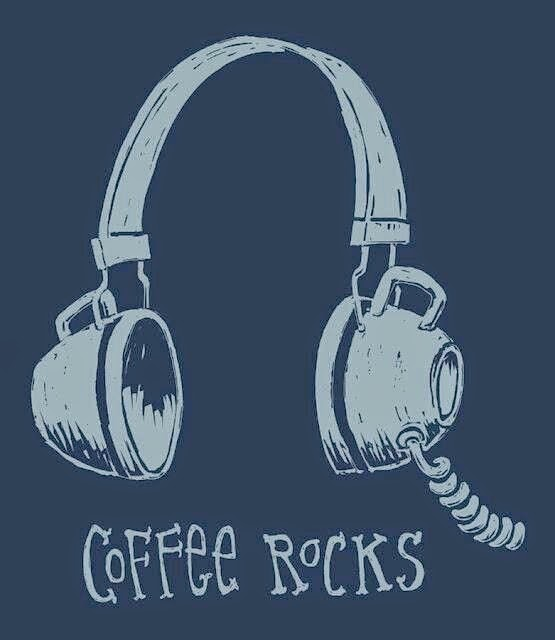 Coffee quotes, coffee and rock.