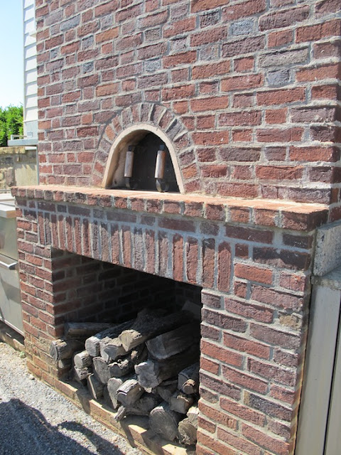 nwafoodie PAllenSmith pizza oven gardens soybean #bean2blog