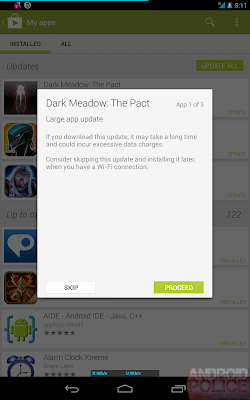 Google Play Store v4.1.6 In Look