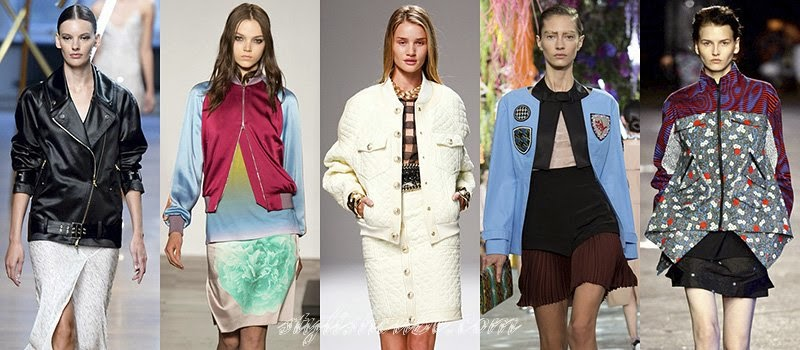 Spring 2014 Women's Jackets Fashion Trends