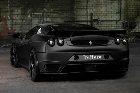 High Quality Black Ferrari F430 Wallpaper