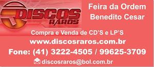 DISCOS RAROS FEIRA DA ORDEM