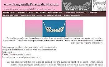 SORTEO MODA ChicasAlPoder por cortesía de GargantillaPersonalizada.com