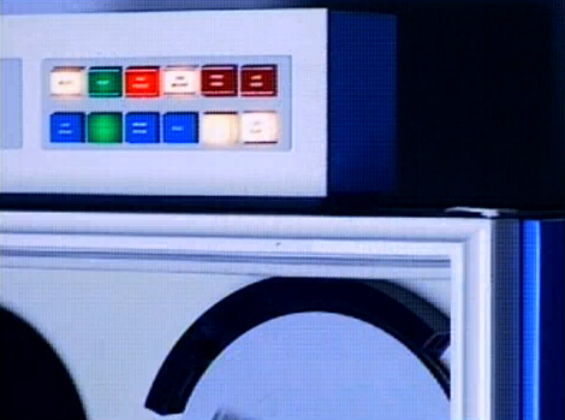 70's Computer. Sonic Youth Still / screenshot from Little Trouble Girl (1995)