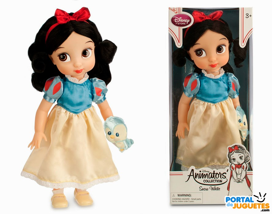 muñeca blancanieves coleccion disney animators tercera edicion