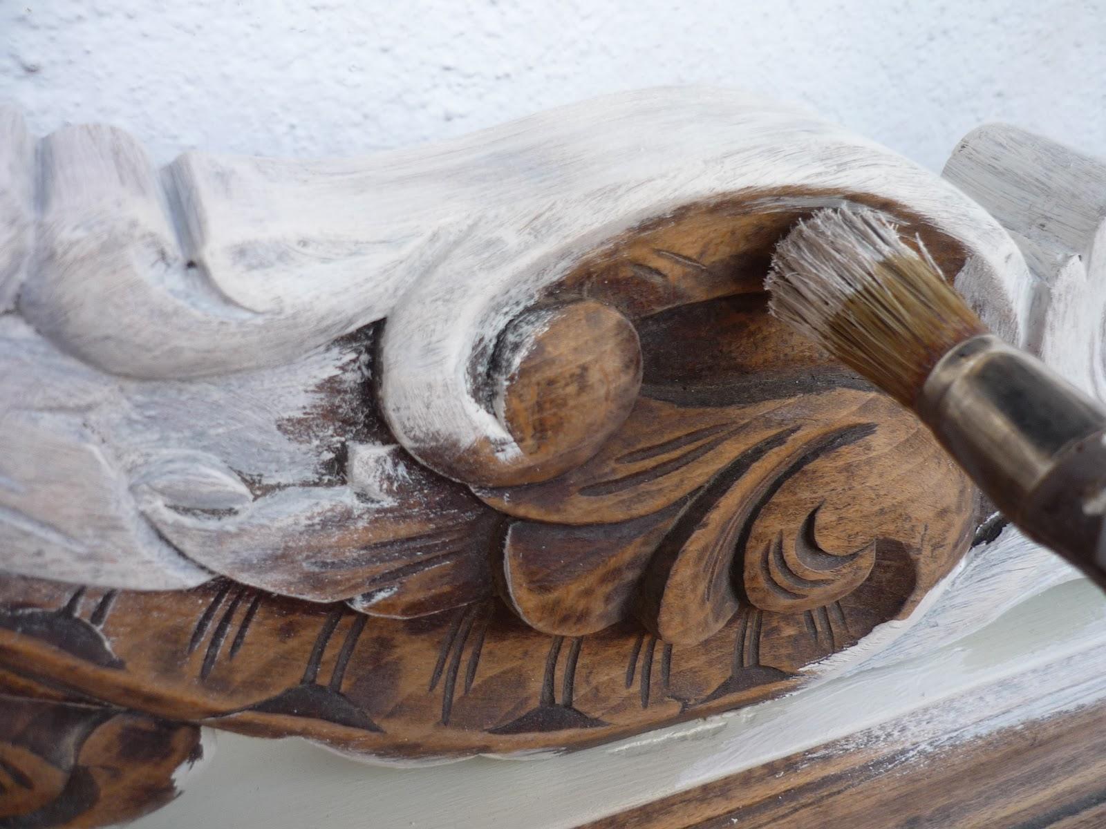 Restauracion y decoracion de madera pintar madera tallada - Restaurar decorar y pintar muebles ...