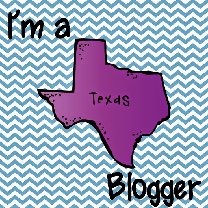 Click to see more Texas bloggers & get your state button!