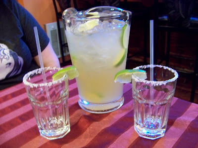 Another picture of the margaritas at Cascada Mexican Restaurant in Beacon, NY
