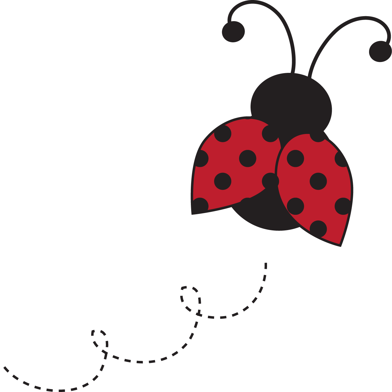 Baby Ladybug Clipart.
