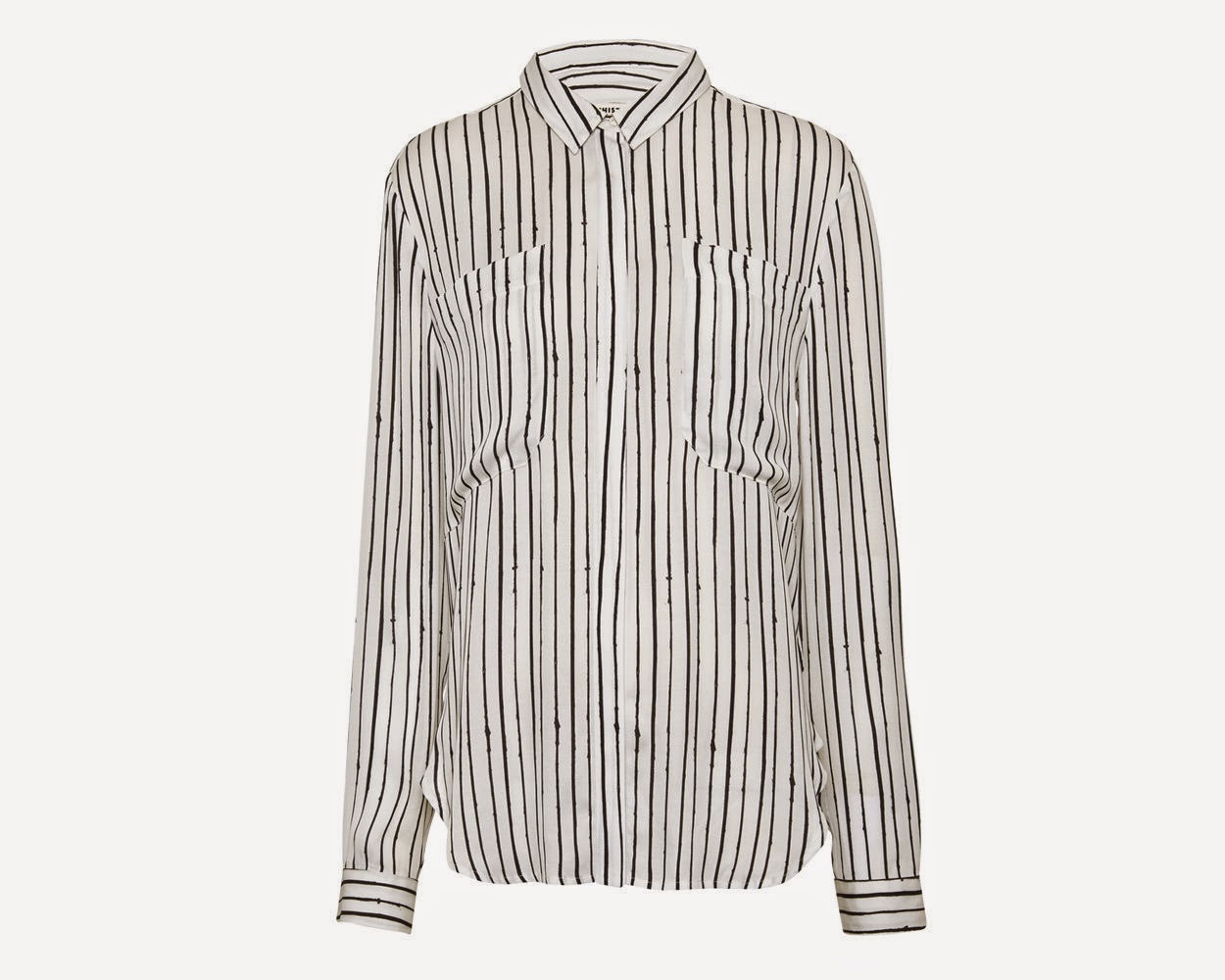 whistles stripe shirt