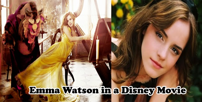 Emma Watson Will be Playing as Princess in 'The Beauty and the Beast' Disney Movie