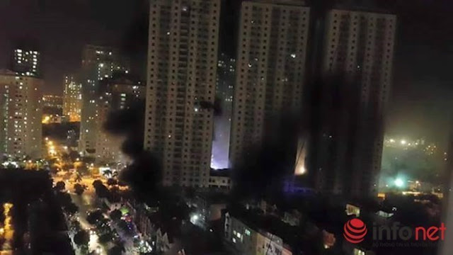 Nguy cơ cháy chung cư