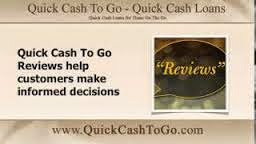 QuickCashToGo.com Reviews