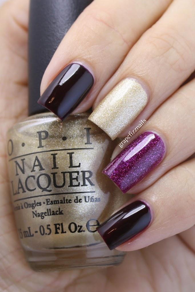 Grape Fizz Nails: OPI Designer Series, Reserve