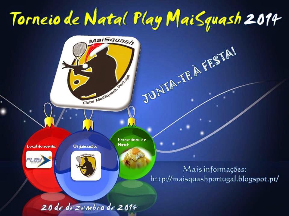 Torneio de Natal Play MaiSquash 2014