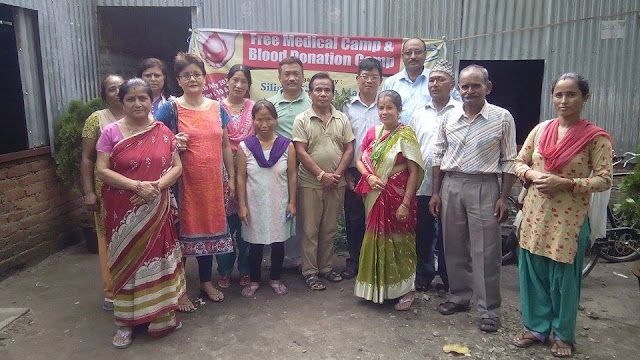 Siliguri Gorkha Manch successfully organized a Free Medical and Blood Donation Camp