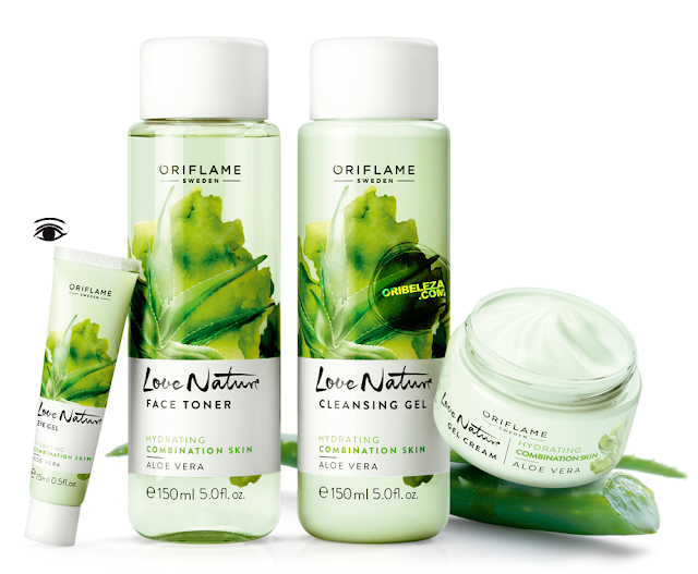 Love Nature da Oriflame - Aloé Vera - Para a Pele Normal e Mista