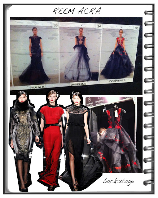 Fashion Junkies NEW YORK FASHION WEEK HIGHLIGHTS: day three with Reem Acra i a/w runway show