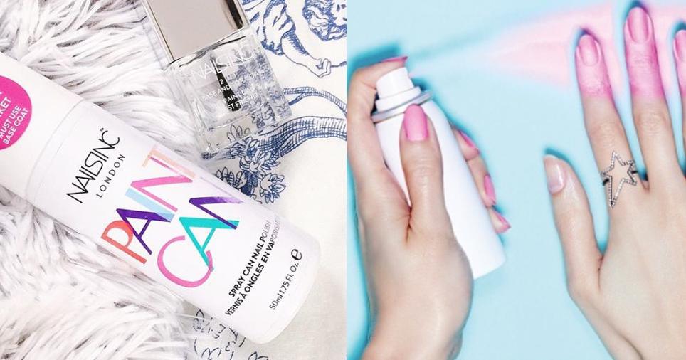 Look Like A Model: Unghie: Smalto spray per una manicure ...