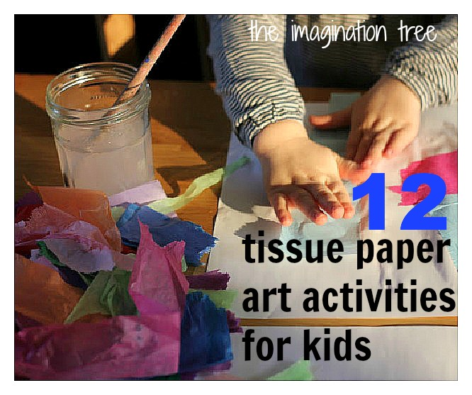 Tissue Paper Craft Ideas For Kids Part - 35: Hopefully ...