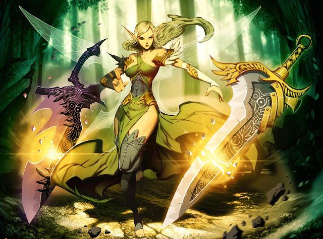 anime elf,anime witch,genzo