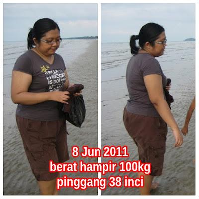 8 Jun 2011 - Berat hampir 100kg, pinggang 38 inci