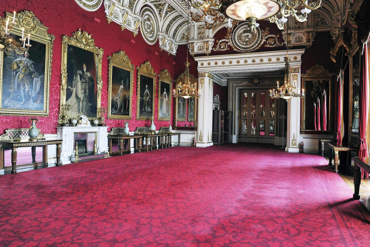 buckingham palace the most beautiful palace in the world armin winkler. Black Bedroom Furniture Sets. Home Design Ideas