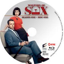 Showtime's Masters of Sex Season One dvd