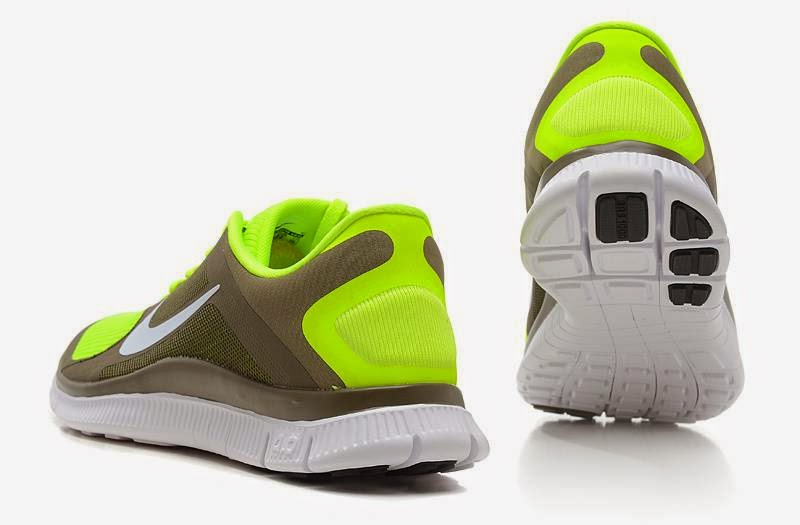 2014 New Nike Free 40 V3 Mens Running Shoes   Electricyellow