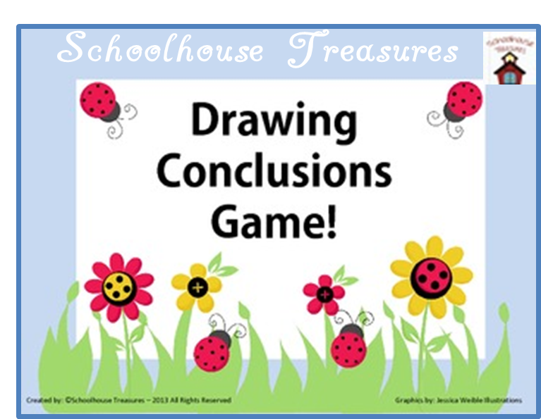 A fun game to provide students with practice drawing conclusions.