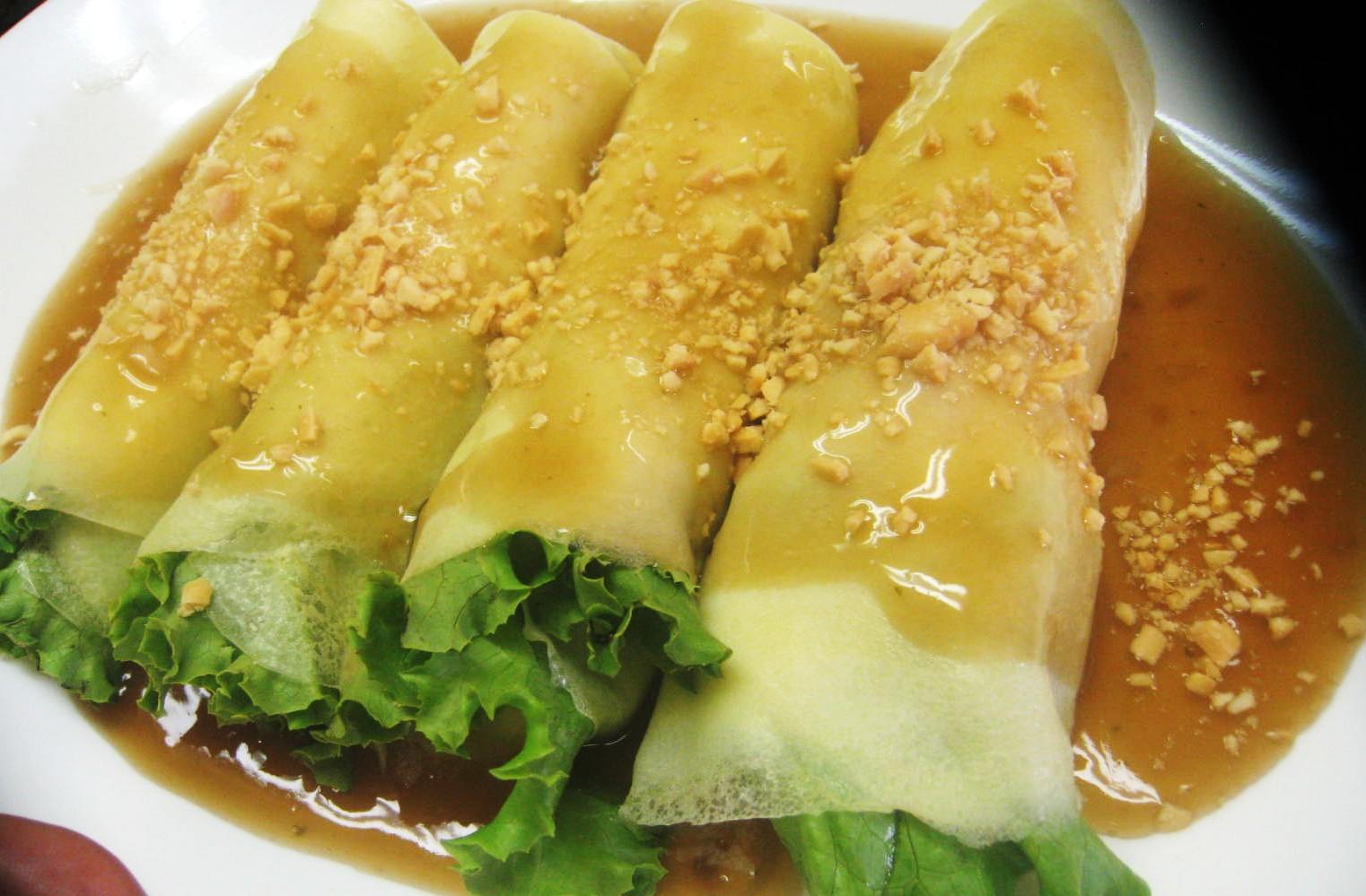 Pinoysrecipes healthy fresh lumpia for Fish recipe panlasang pinoy