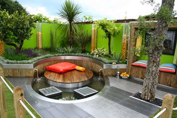 Patio Deck Ideas and Pictures Modern Blocking
