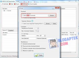 Tutorial Cara Download Mega.nz Menggunakan Downloader
