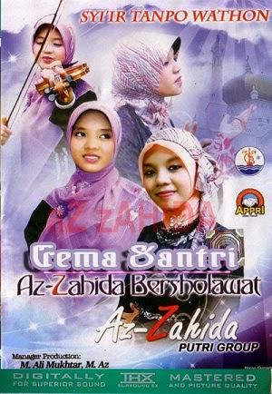 Album Zahida Bersholawat - Az Zahida Putri Gema Santri