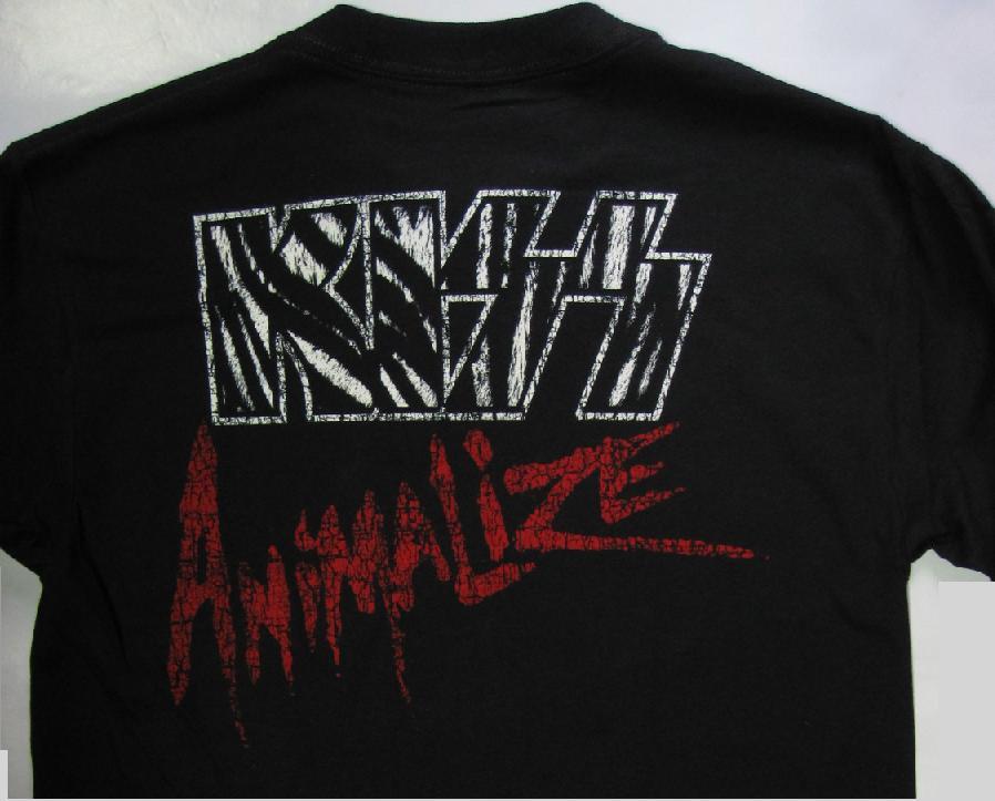 kiss animalize: