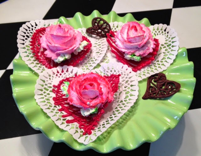 Cake Art By Liz : Frosted Art: Truffle Roses And Bouquet- Cake Decorating- Video